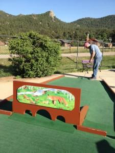 Tiny Town Miniature Golf Hole