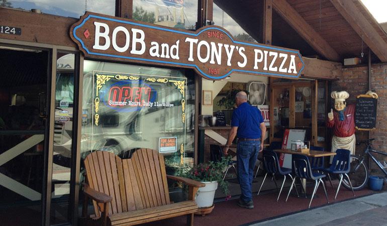 Bob and Tony's Pizza