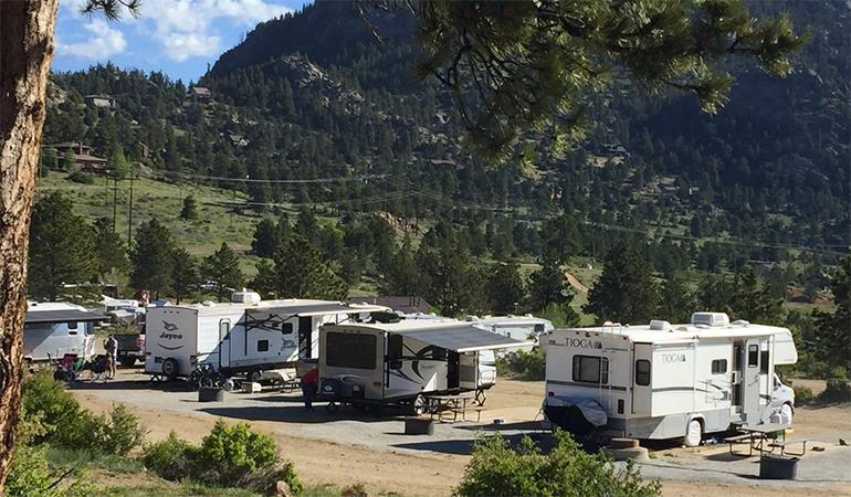Estes Park Campground at Marys Lake