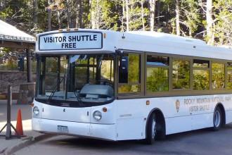 Estes Park free shuttle bus