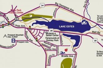 Estes Park Maps