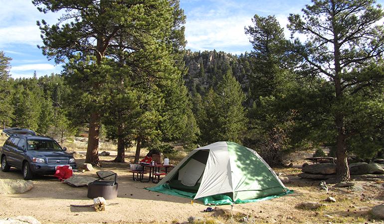 Hermit Park Open Space Campground