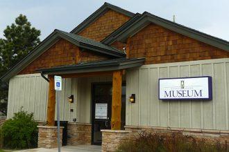 the Estes Park Museum exterior