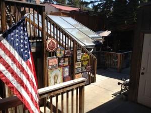 The Wapiti Pub patio